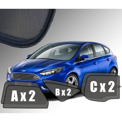 Cortinas solares - Ford Focus III Hatchback (2010-2018)