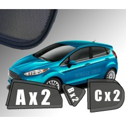 Cortinas solares - Ford Fiesta (2008-2017)