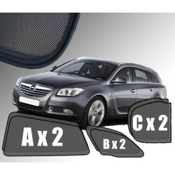 Cortinas solares - Opel Insignia A Sports Tourer / Carrinha (2008-2017)