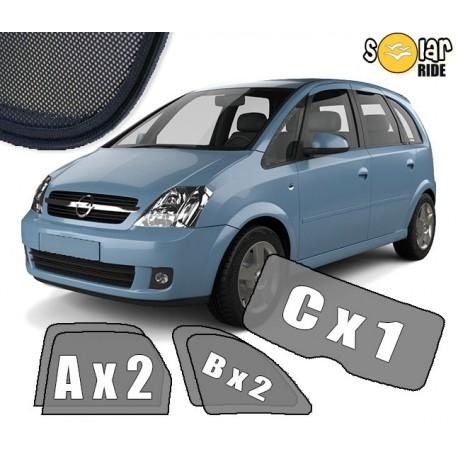 Cortinas solares - Opel Meriva A (2003-2010)