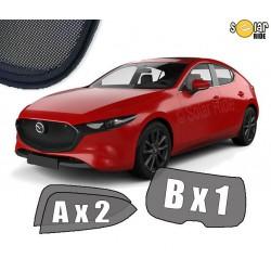 Cortinas solares - Mazda 3 IV Hatchback (2019-)