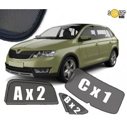 Cortinas solares - Skoda Rapid Spaceback (2012-2019)