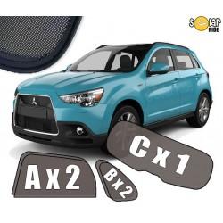 Cortinas tapa sol / solares para Mitsubishi ASX  2010-