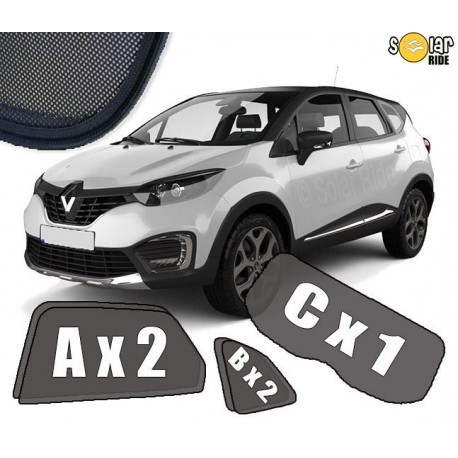 Cortinas solares para Renault Captur I (2013-2019)