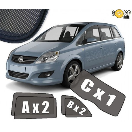 Cortinas solares - Opel Zafira B (2005-2014)