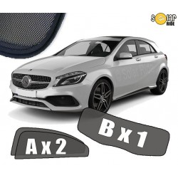 Cortinas solares - Mercedes Classe A W176 (2012-2018)
