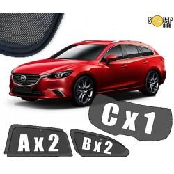 Cortinas solares - Mazda 6 III (GJ) Carrinha 2012-