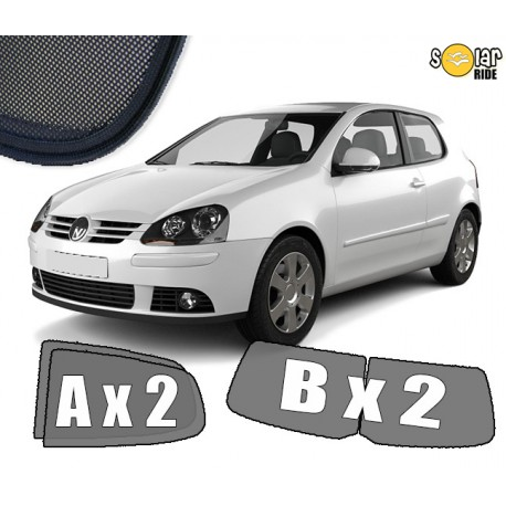 Cortinas solares - VW Golf 5  3p (2003-2009)
