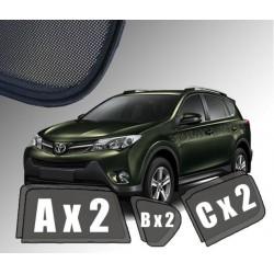 Cortinas solares - Toyota RAV4 IV (2013-2019)