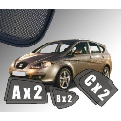Cortinas solares - Seat Altea XL / Freetrack (2006-2015)