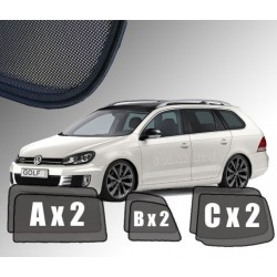 Cortinas solares - VW Golf 5 Variant (2003-2009)