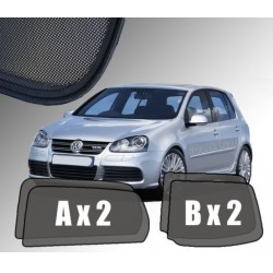Cortinas solares - VW Golf 5  5p (2003-2009)